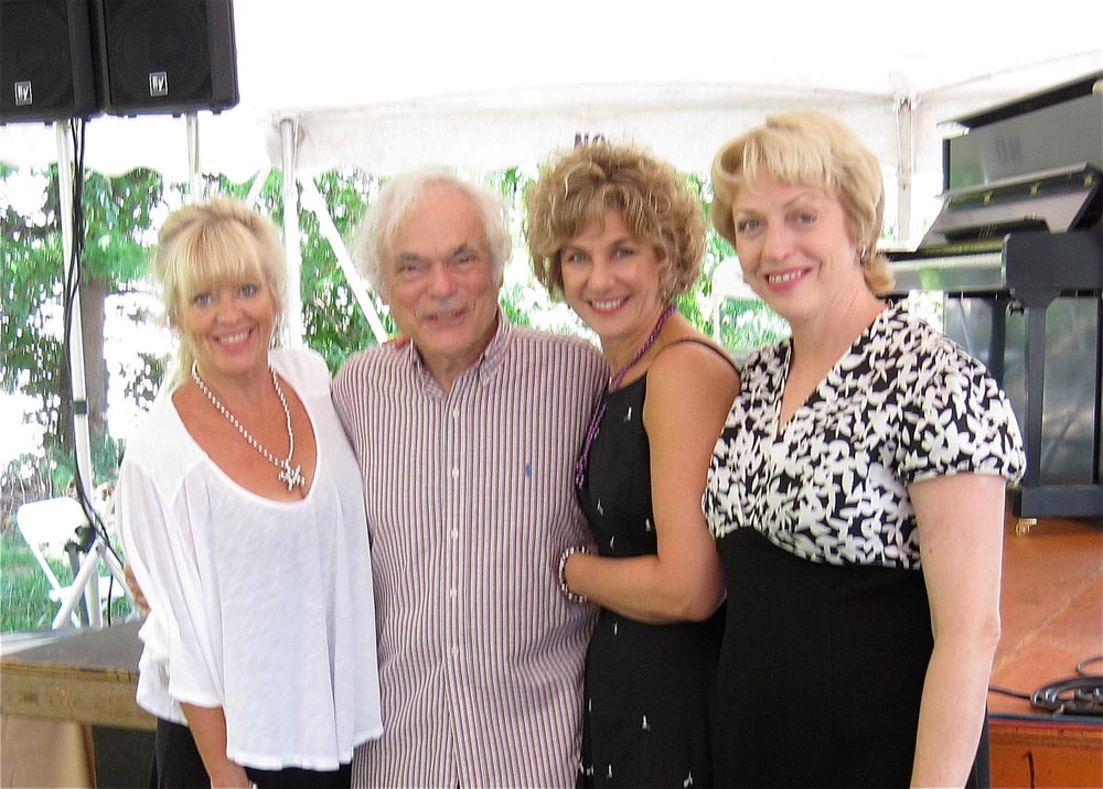 With String of Pearls and guitarist Gene Bertoncini at Connecticut jazz festival