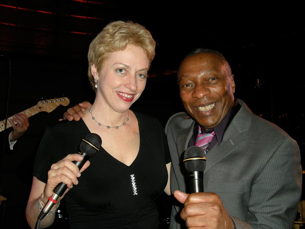 Singing at the Rainbow Room with Richard Lanham