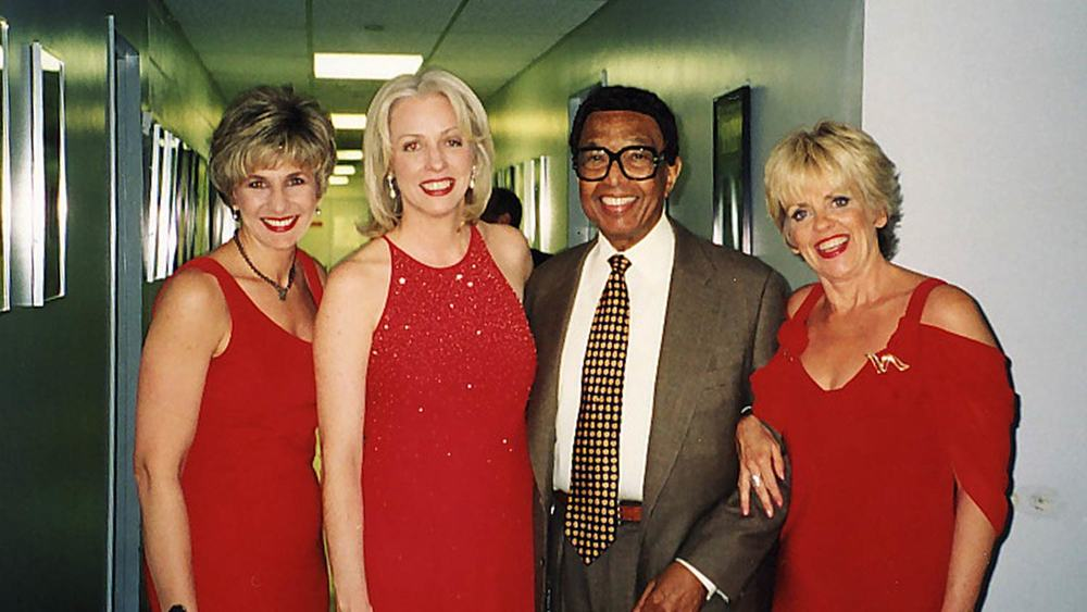 Backstage with Billy Taylor and String of Pearls, Women in Jazz Festival, Kennedy Center