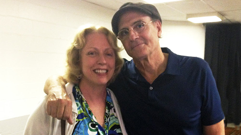 Reconnecting with James Taylor