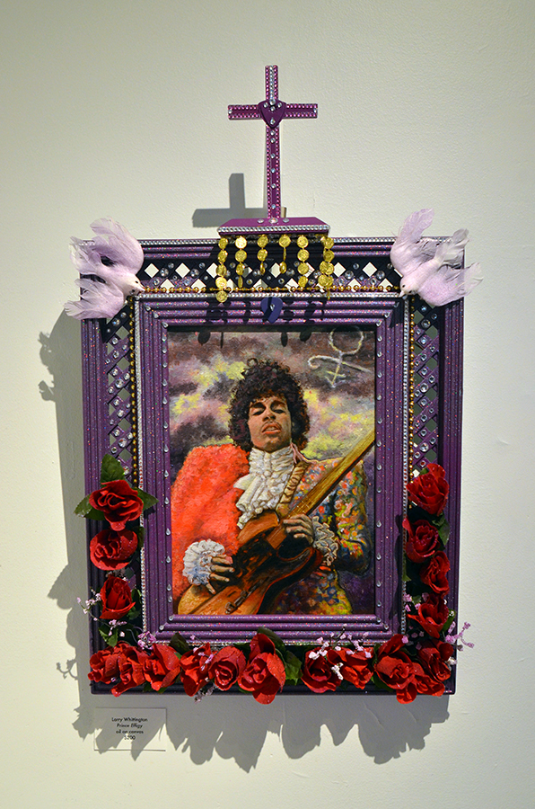 Larry Whittington   Prince Effigy  oil on canvas