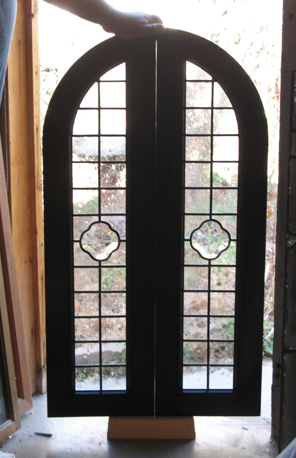 Custom glass window