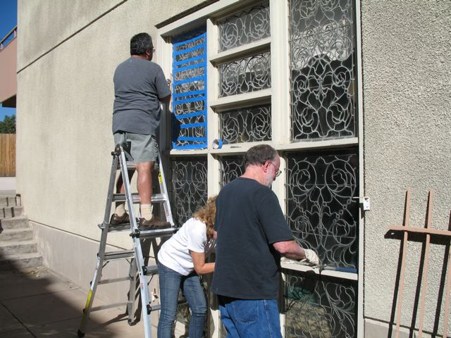 Restoration glass windows