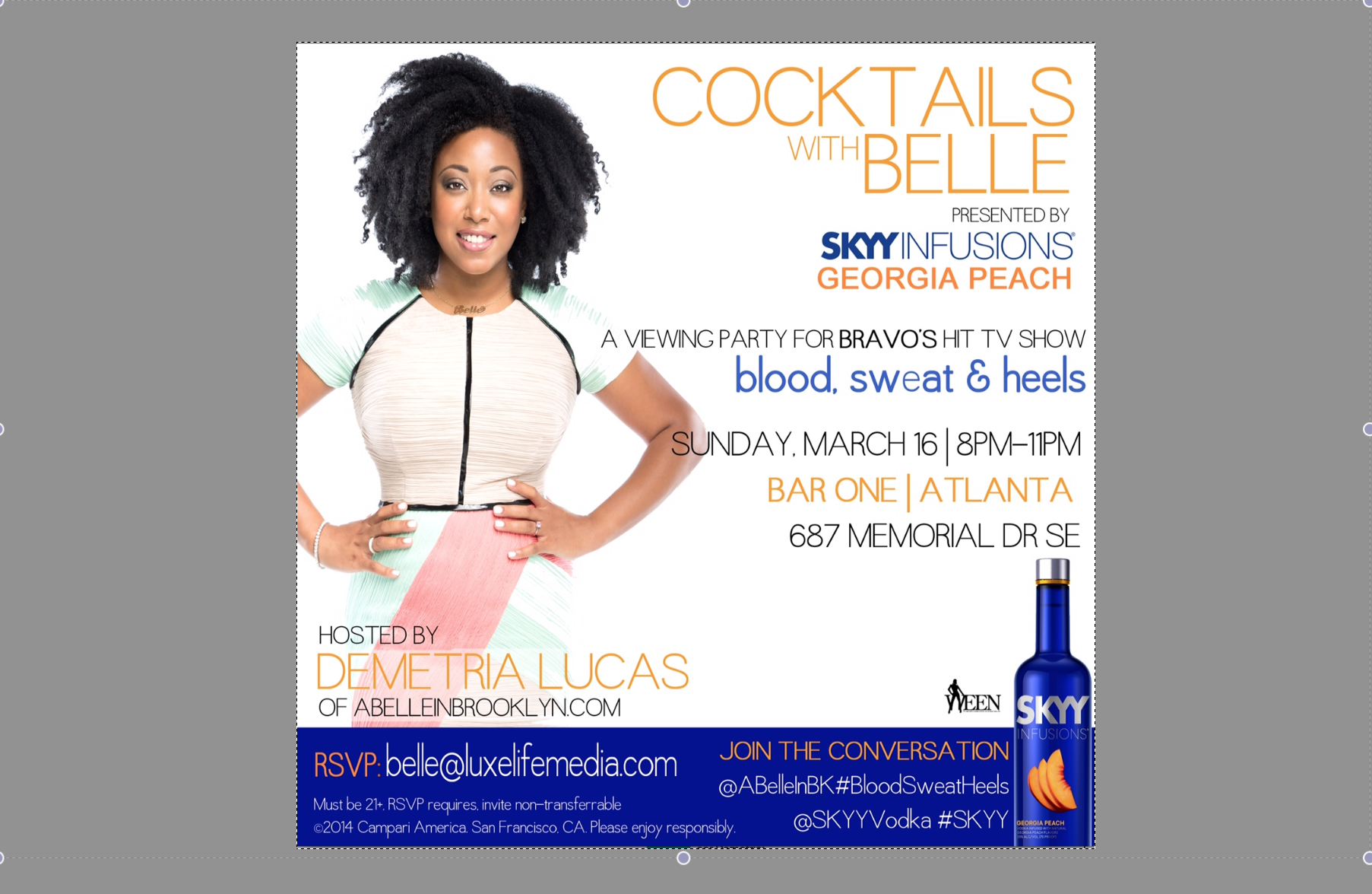 Cocktails with Belle ATL