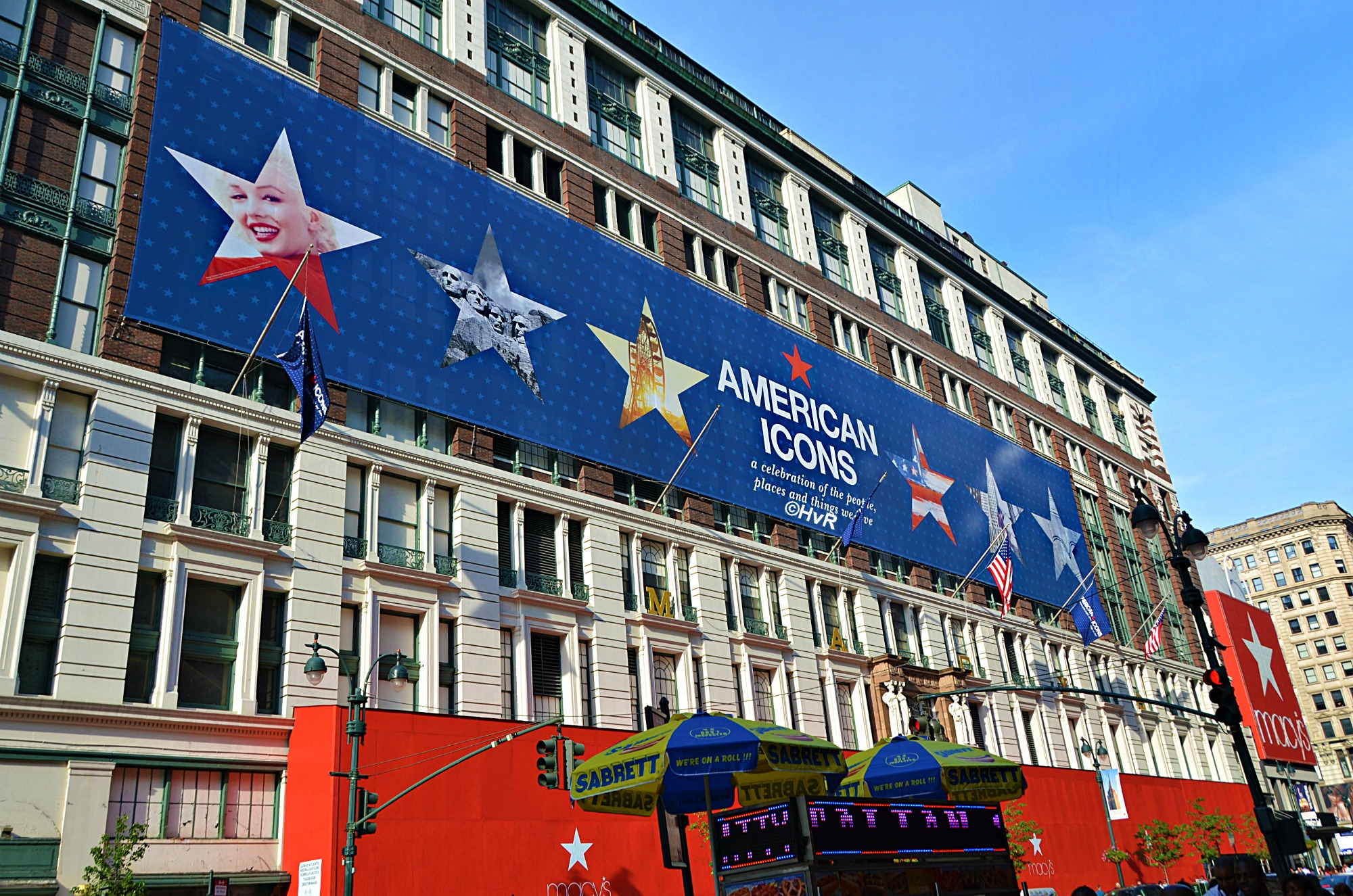 Macy's flagship department store at Herald Square NYC