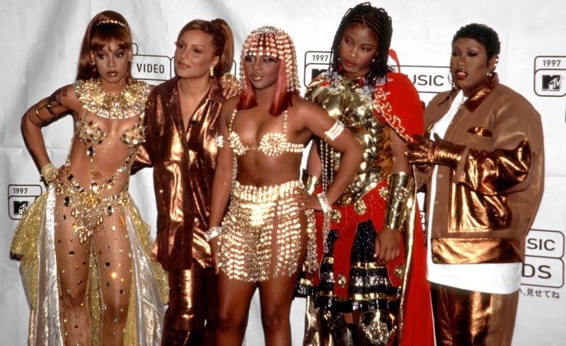 """Ladies Night"" featuring Lisa 'Left Eye' Lopes, Angie Martinez, Lil Kim, & Da Brat,  & Missy Elliott"