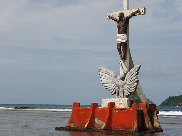 Black Jesus at Isla Grande