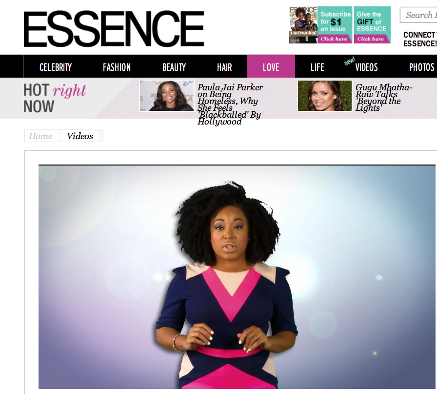 "Demetria shares her top ""Don't Waste Your Pretty"" tips with Essence.com"