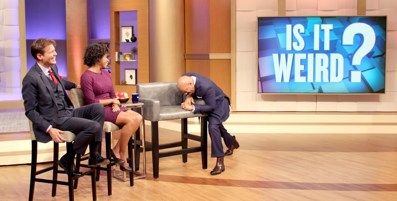 "The Steve Harvey Show's ""Is This Weird?"" segment."