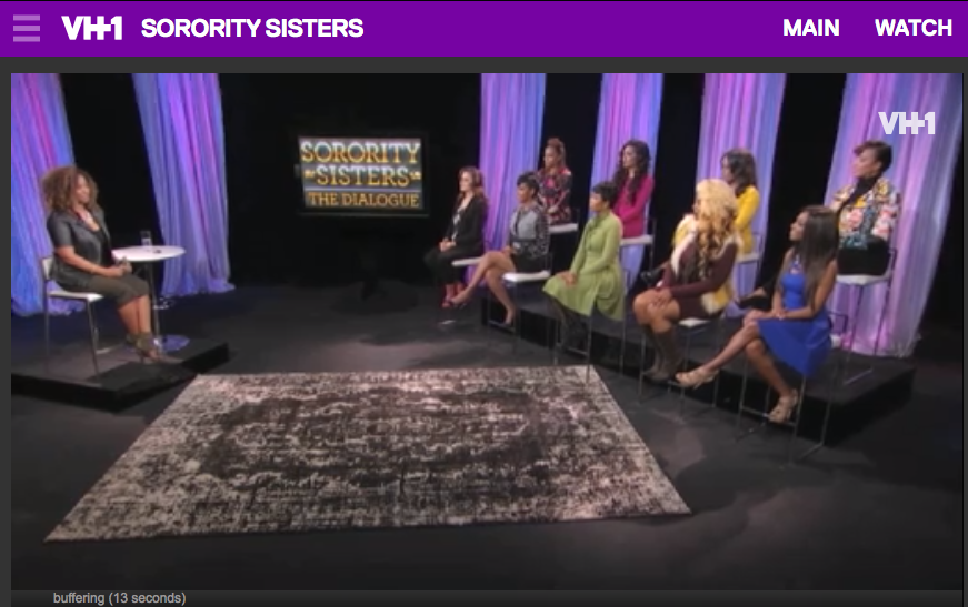 """""""Sorority Sisters"""" dialogue hosted by (the homie) Tanika Ray"""