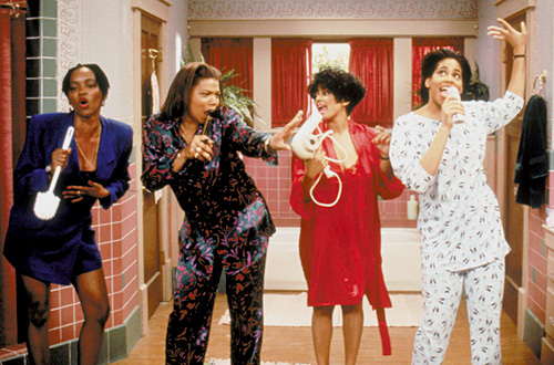 Living Single: You think these friends would intentionally bail on each other?