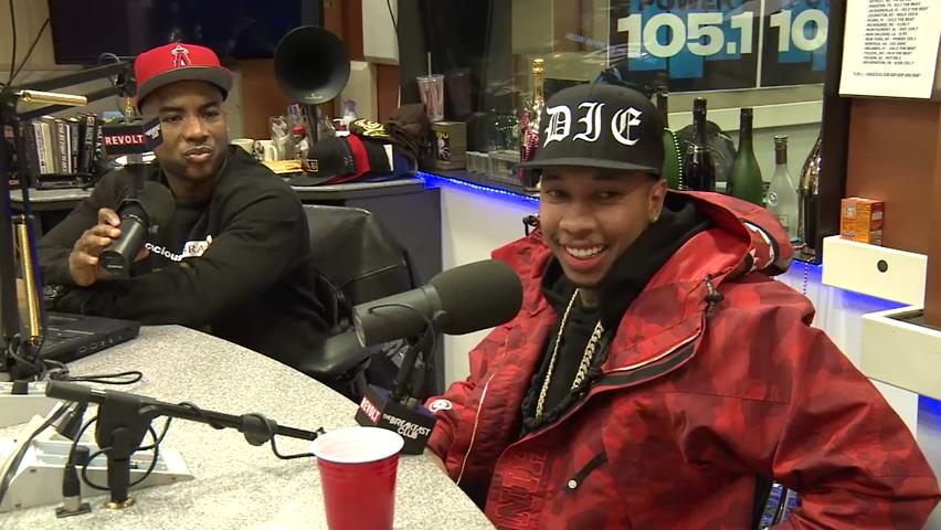 Tyga stops by The Breakfast Club to throw Black culture under the bus.