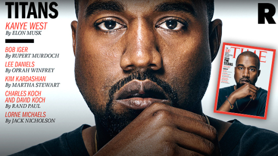 Kanye West lands Time's Most Influential list