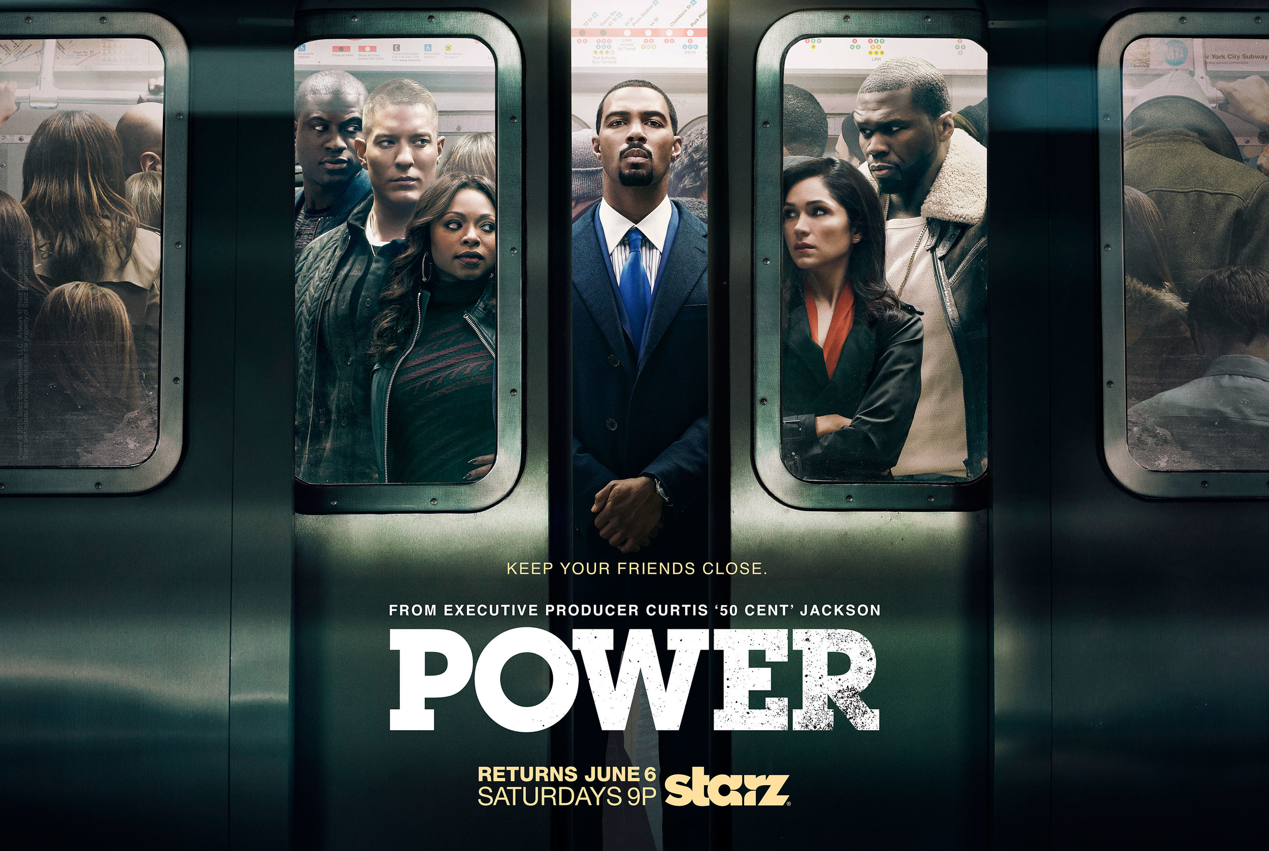 Power Season 2 Promo Poster