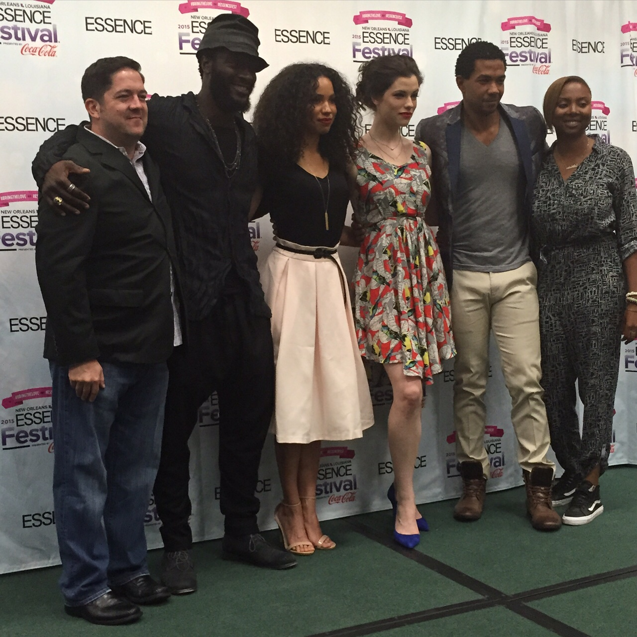 "The cast of WGN""s The Underground"