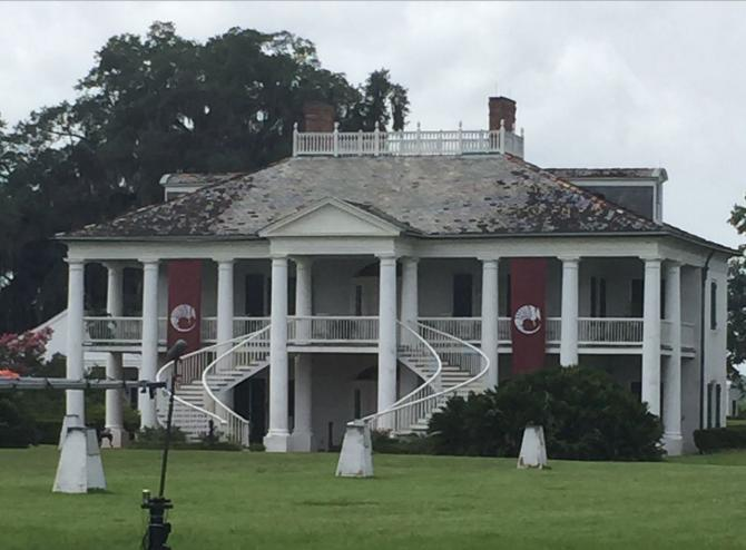 The Evergreen Plantation, where the film Django Unchained was filmed