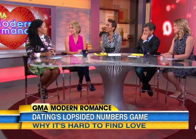 "Demetria does ""Modern Romance"" on Good Morning America"