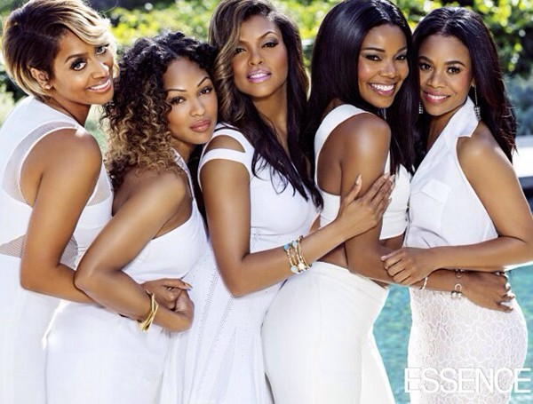 "The female cast of ""Think Like A Man Too"", photographed for Essence"