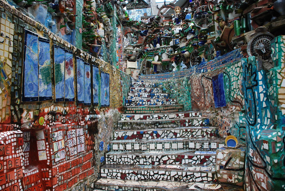 Philadelphia's Magic Gardens, courtesy of TheOdysseyOnline.com