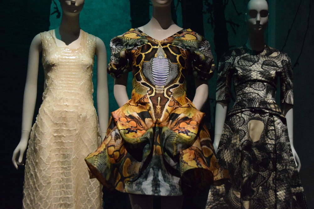 From L to R: Yoshiki Hishinuma (2001), Alexander McQueen (2010), Giles (2015),