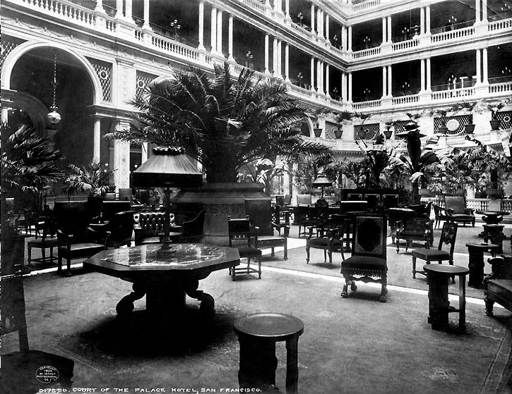 The Palm Court circa 1904