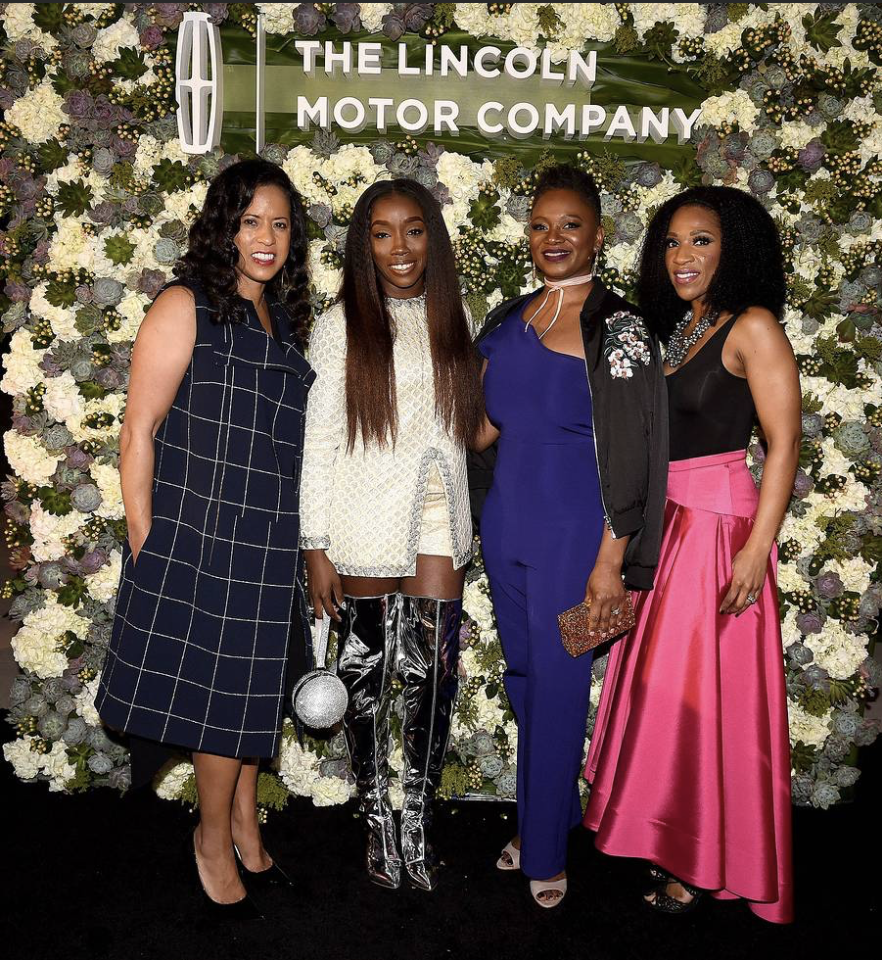 Michelle Ebanks (Essence), Estelle, Vanessa DeLuca (Essence), Raj Register (Lincoln)