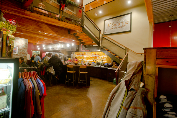 Montanya's Distillery and Tasting Room in Crested Butte