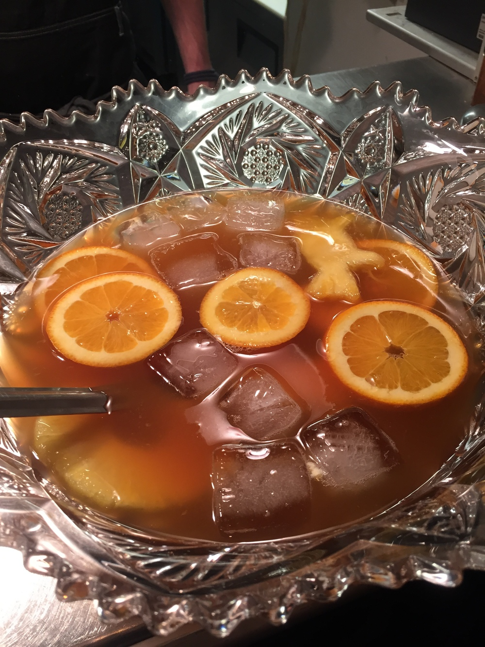 The Rum Punch at Butcher's Bistro