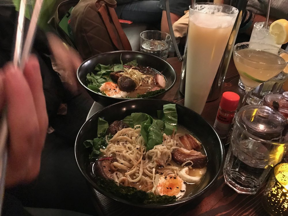 Montanya Ramen (gf and vegan options!)