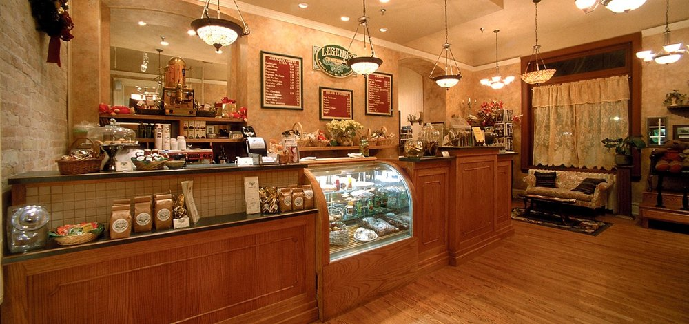 The Bluebird Care and Coffeehouse has great lattes and gluten-free quiche.