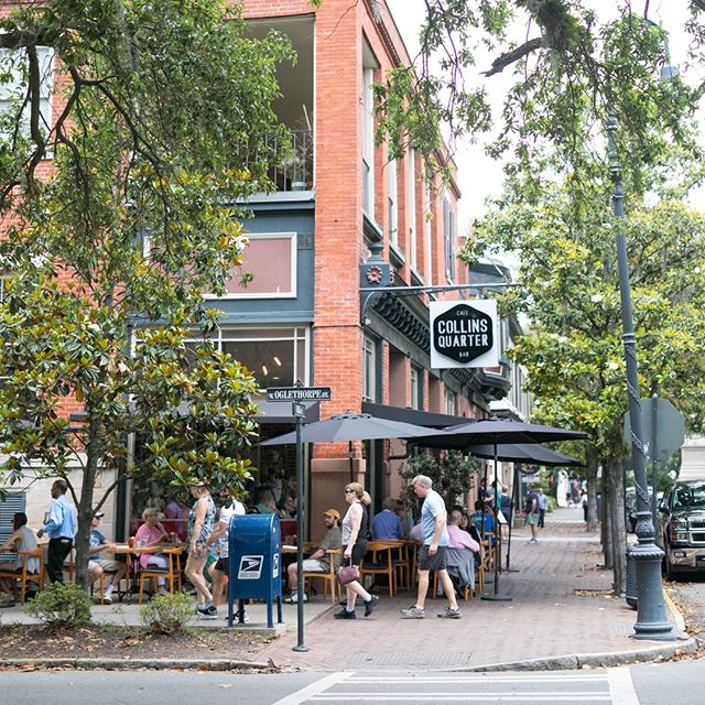 Welcome to The Collins Quarter.  We love having you.  Tell us, when did you last visit and what did you order?  #visitsavannah #georgia #eatlocal #eatfresh #sofresh #love #instagood #foodporn #foodie #instafood #delicious #lunch #yummy #feedfeed #eeeeeats #foodstagram #brunch #thefitzroy #exploregeorgia #food52 #gourmet #localchef #collinsquartergroup
