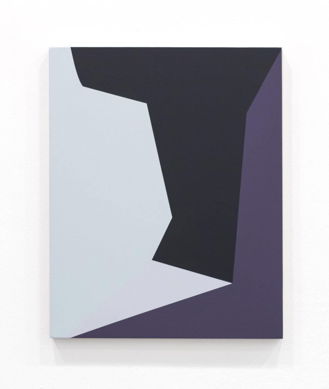 """Memory Walks , 20""""x16"""", acrylic paint on panel, 2016"""
