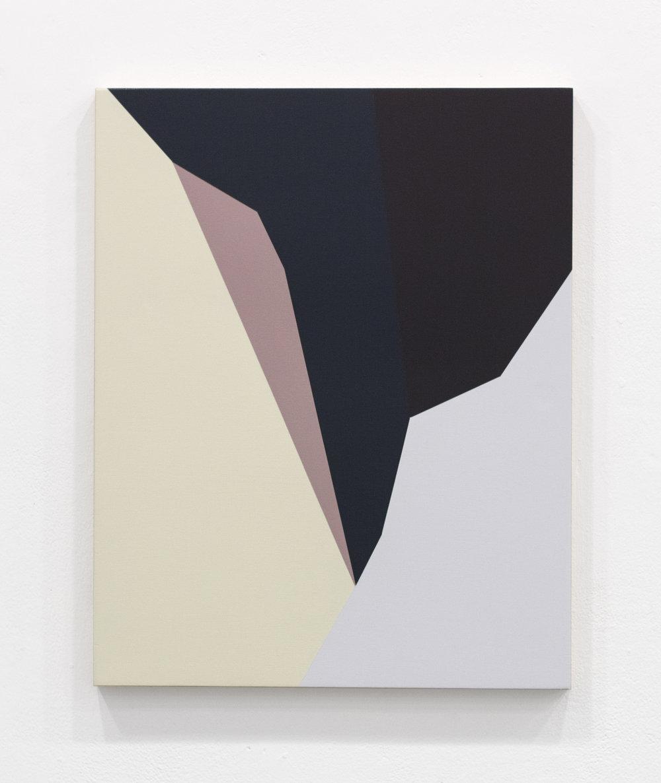 "Twofold Sense , 20""x16"", acrylic paint on panel, 2016"