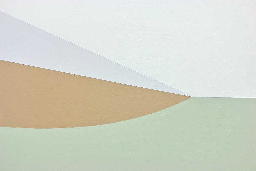 "always on hope,  20""x16"", acrylic paint on panel, 2017. detail"