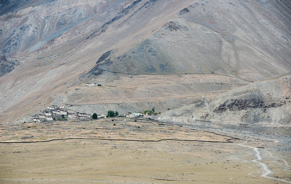 "The village of Kumik as well as its pastures and farms, sit below the disappearing Sultan Largo glacier and surrounding snowfields. After years of drought, in 2001, the village of Kumik in Zanskar, Kashmir officially decided to abandon their millennium old village and relocate. While many agreed to the relocation, several families resisted abandoning their centuries old home because they feared losing their ""tangible"" and ""intangible"" heritage. Climate change is marginalizing the right to the survival, self-determination and culture of communities across the world, making it a human-rights issue."