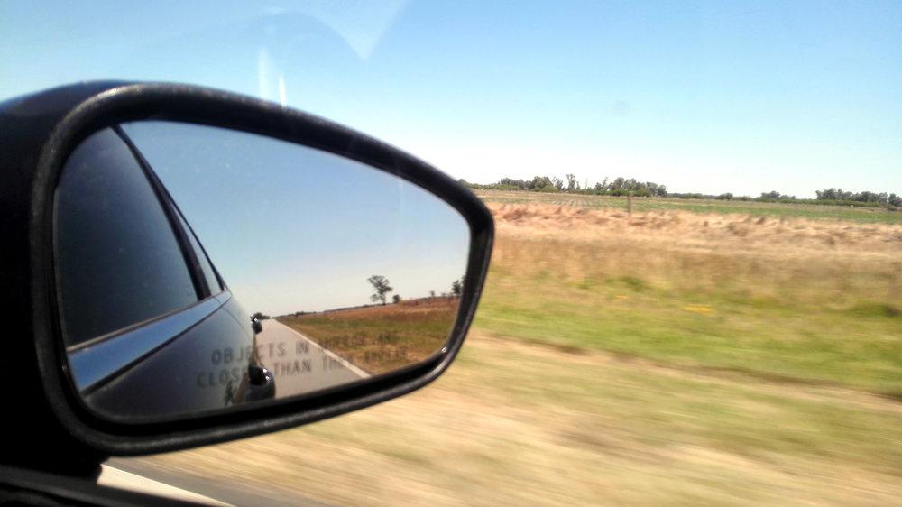 Passing Las Pampas province