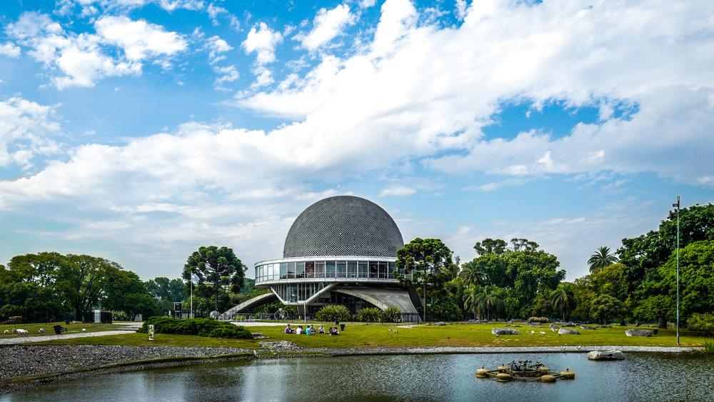 The planetarium!