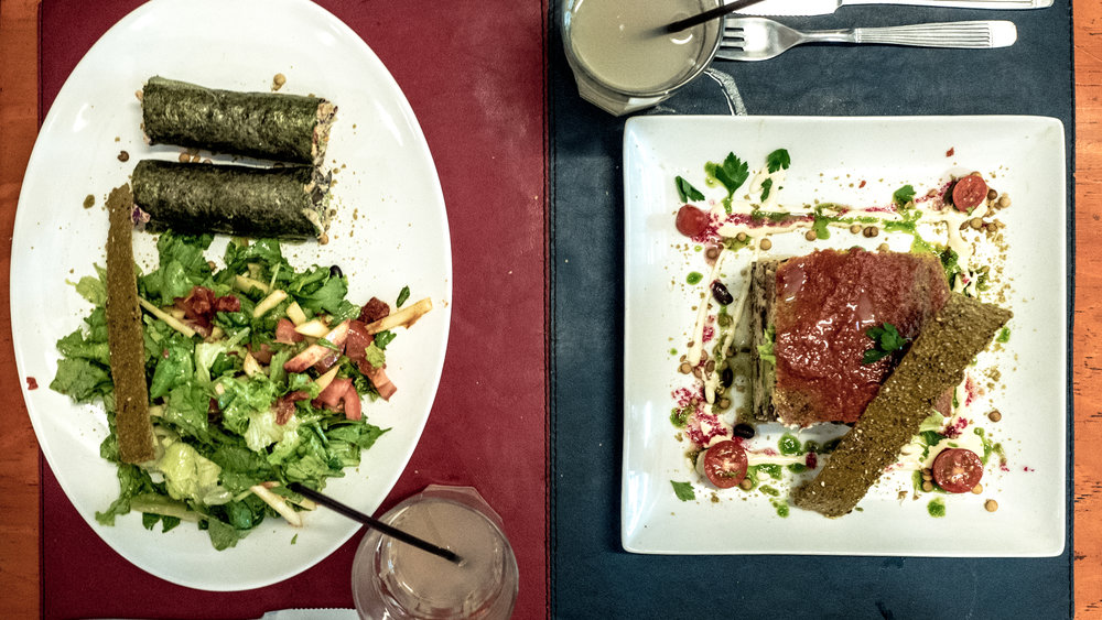 Raw food at Buenos Aires Verde