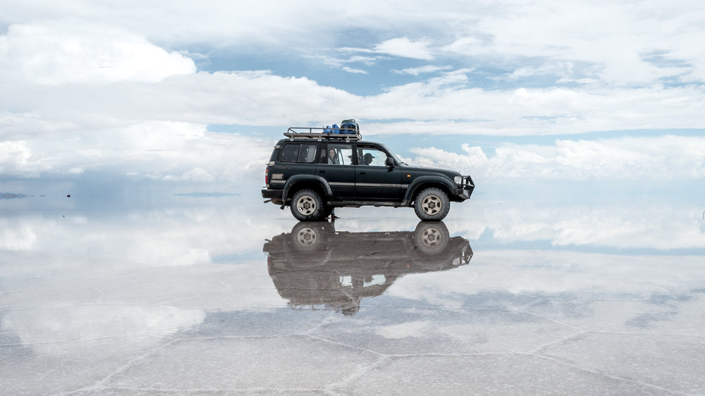 ...And this is the salt flat!