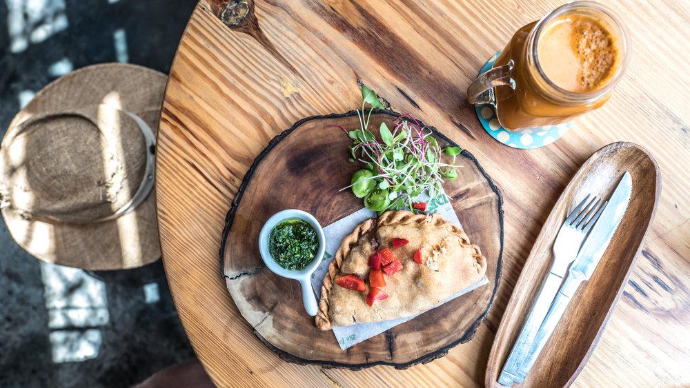 """La verde"", vegan café in Lima"