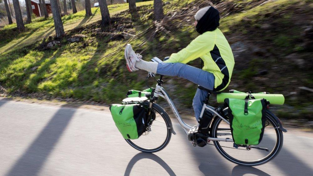 E-bike stretch!