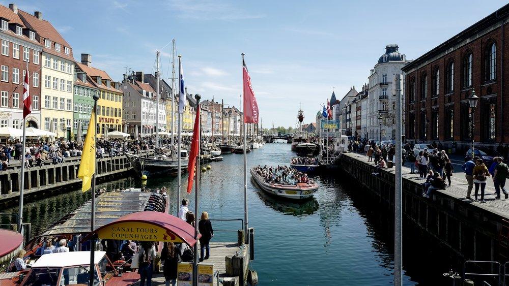 The very beautiful Copenhagen