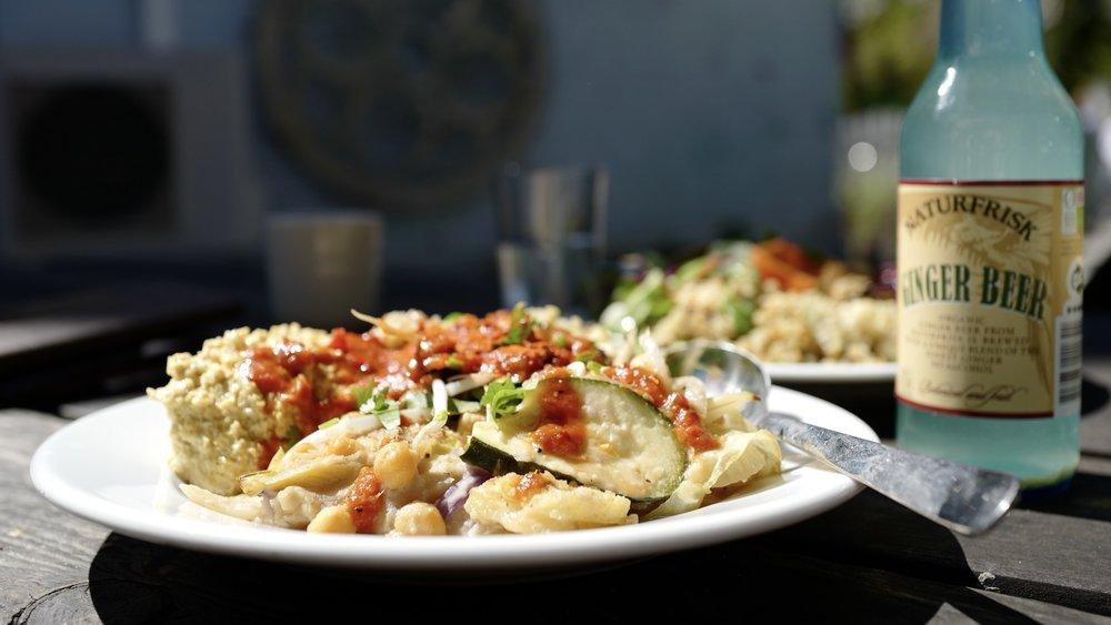 Vegan and organic food in Christiania