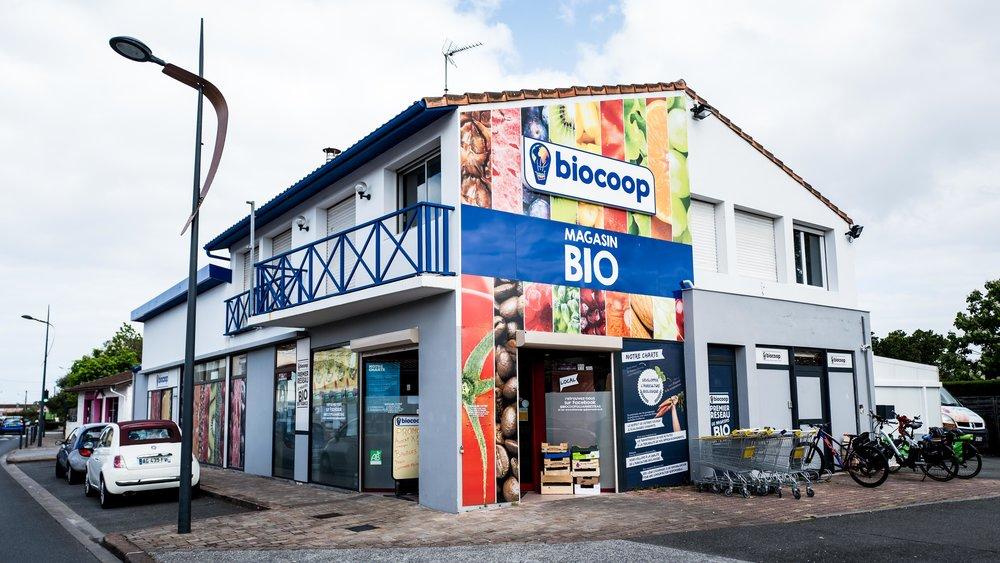 Biocoop, a big bio/organic store