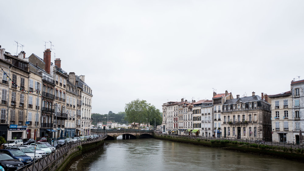 Old part of Bayonne