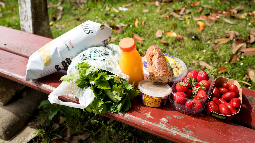 Another picnic with lovely organic products bought in Ustaritz town.