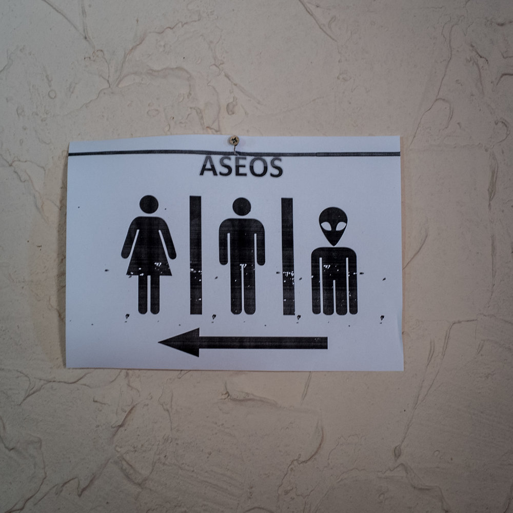 Apparently in Galicia there are many Aliens, this is not the only sign we've seen looking like this.