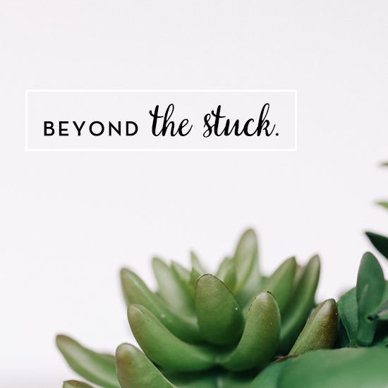How to Move Beyond the Stuck by Tiffany Han