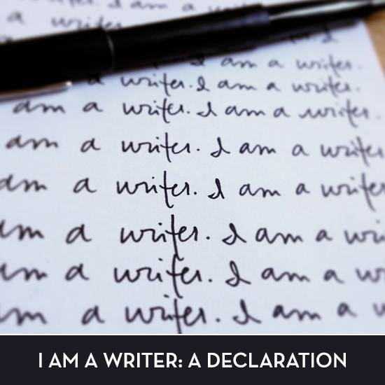 I am a writer: a declaration. via Tiffany Han
