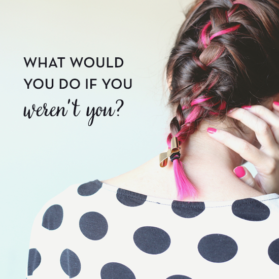What Would You Do if You Weren't You? via Business and Branding Coach Tiffany Han